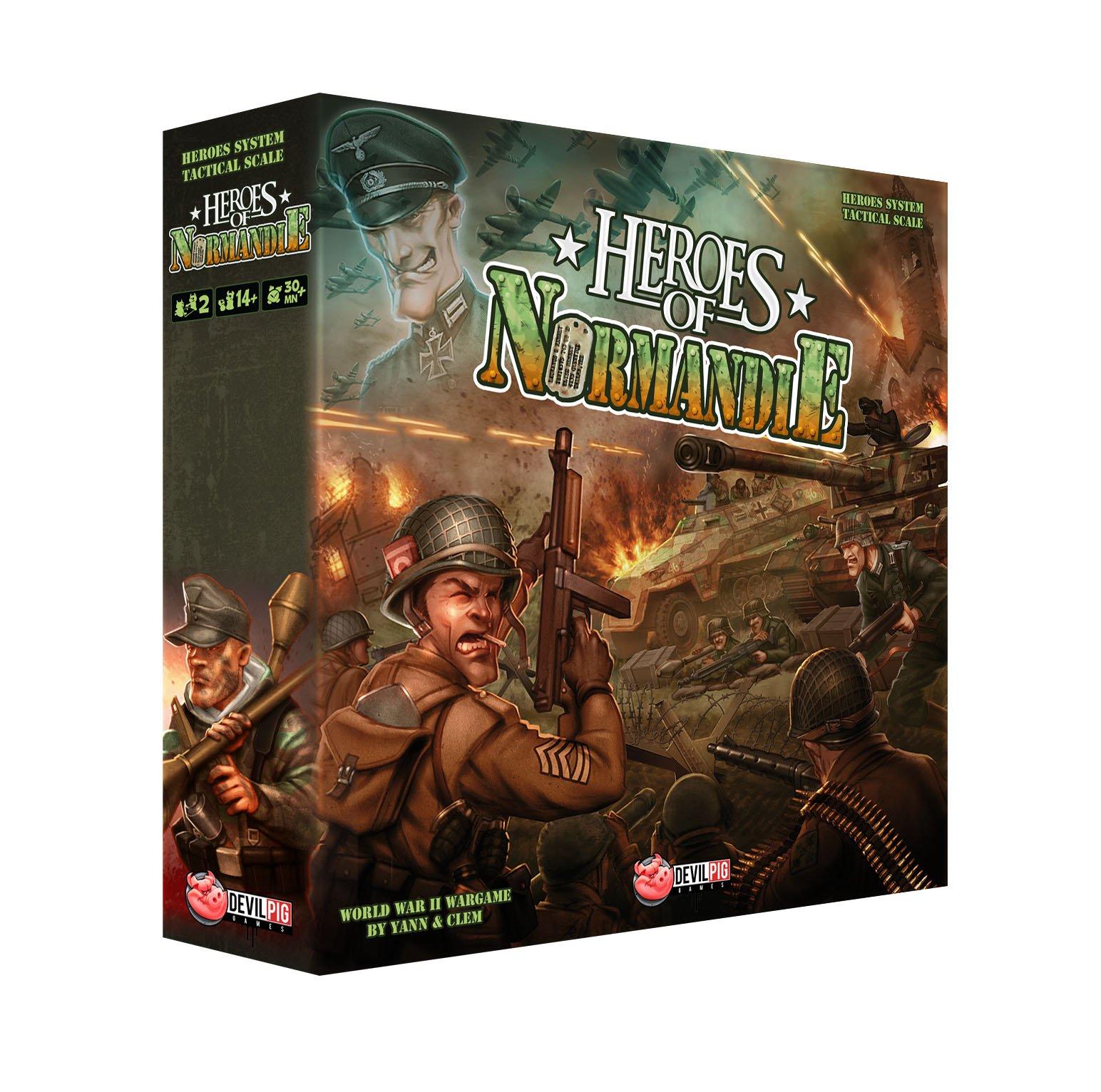 Desconocido Héroes - Juego de Mesa, para 2 Jugadores (DPG58001) (Importado): Amazon.es: Juguetes y juegos