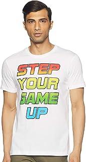 Max Men's Solid Slim Fit T-Shirt