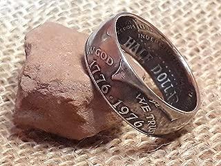 bicentennial coin ring