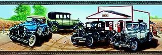 Ford Model A Classic Cars Wallpaper Border