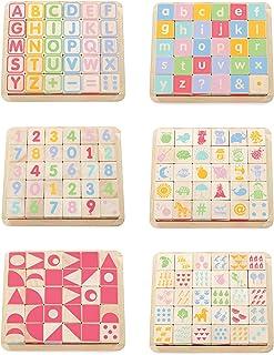 Le Toy Van - Petilou träpedagogisk ABC träklossar leksak för småbarn och spädbarn | Lämplig för en pojke eller flicka 1 år...
