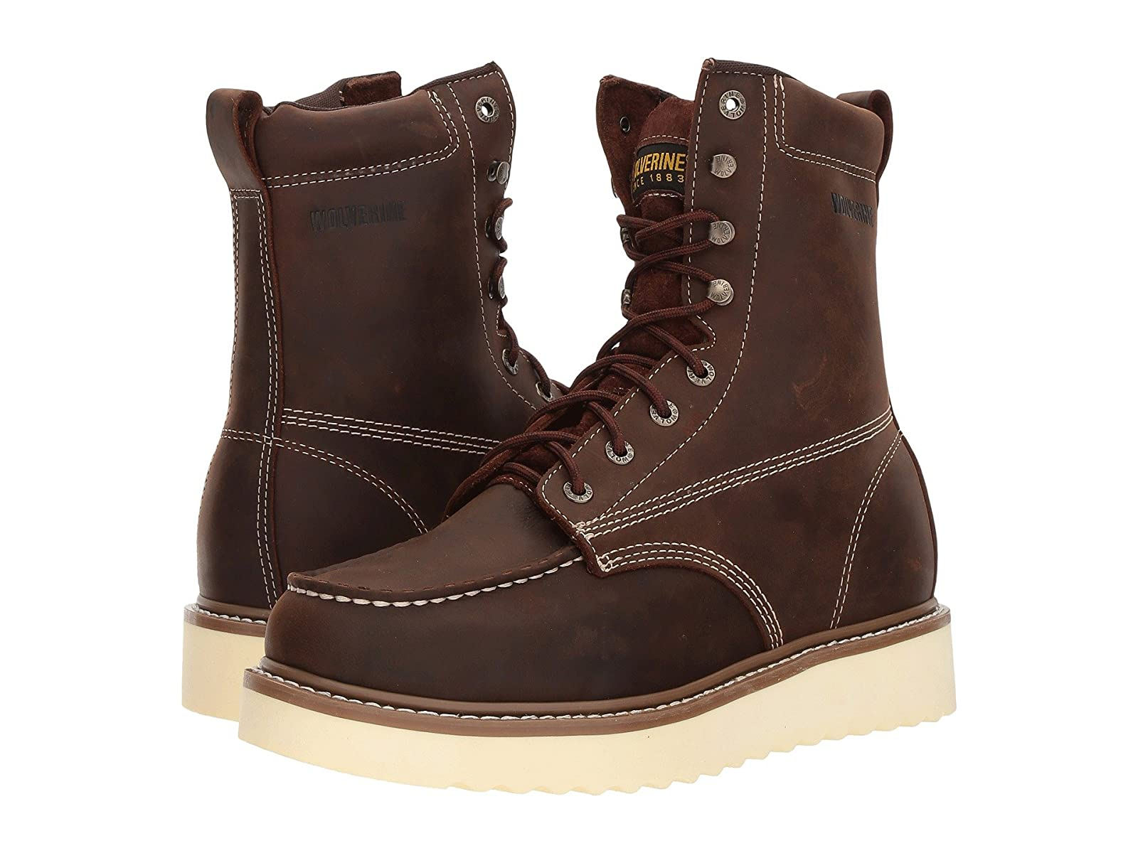 """Wolverine Loader 8"""" BootEconomical and quality shoes"""