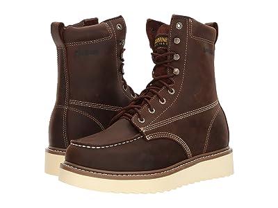 Wolverine Loader 8 Boot Soft Toe (Brown) Men
