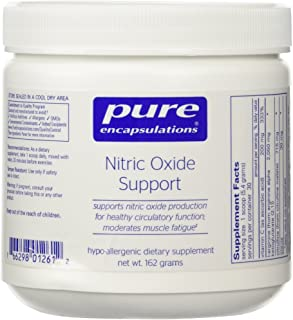 Pure Encapsulations - Nitric Oxide Support - Supports Healthy Oxygen Circulation and Promotes Energy Production Within Muscles - 162 Grams