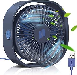 TedGem Ventilador USB, Mini Ventilador USB Silencioso,