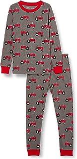 Hatley Long Sleeve Printed Pajama Set Juego de Pijama para Niños