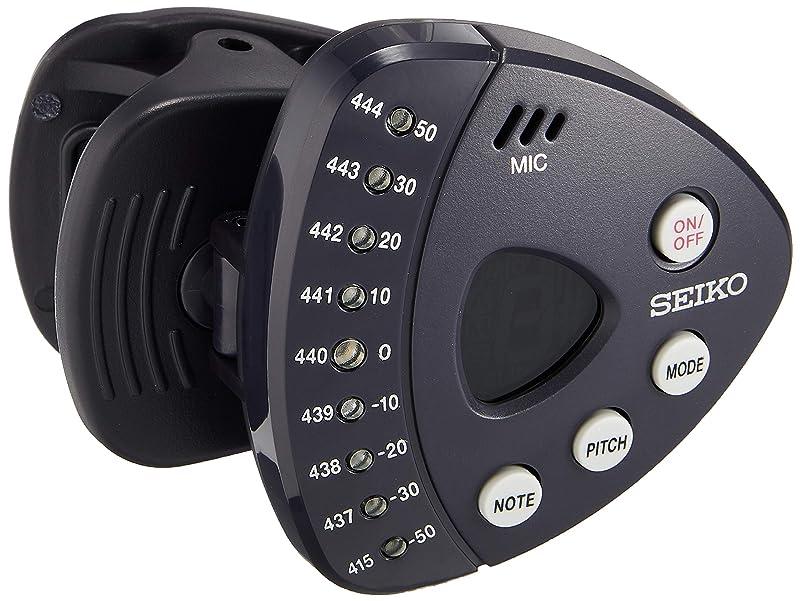 半球リム変換するSEIKO セイコー クリップチューナー STX1N