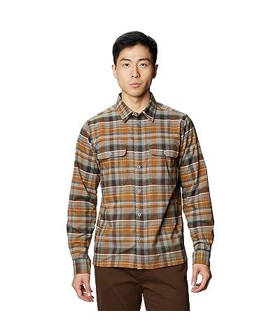 Mountain Hardwear Voyager One Long Sleeve Shirt (Wet Stone) Men