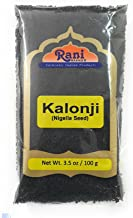 Rani Kalonji (Black Seed, Nigella Sativa, Black Cumin) Seeds 3.5oz (100g) All Natural ~ Gluten Free Ingredients | NON-GMO | Vegan | Indian Origin