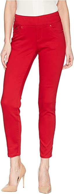 FDJ French Dressing Jeans - D-Lux Denim Pull-On Slim Ankle in Red