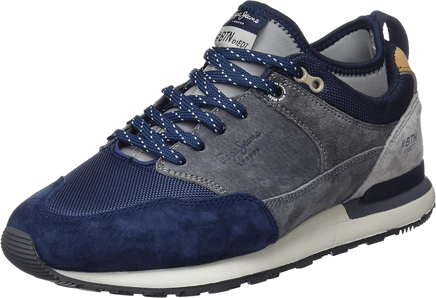 Pepe Jeans Men's Btn Treck Pack Trainers