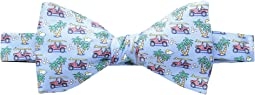 Truck & Palm Printed Bow Tie