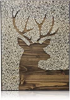 Deer String Art Kit - DIY String Art Kit, Deer Crafts Decor, Deer Decor, Craft Kit for Adults, Adults Arts and Crafts, Deer Crafts, Deer Wall Art, All Supplies Included