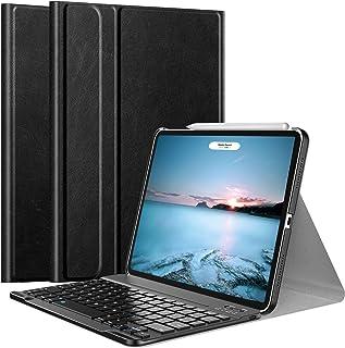 iPad Air4 ケース Royal Atic iPad Air 第4世代 2020 10.9インチ キーボード付きケース キーボードカバー 着脱式 Apple Pencil2のペアリング & 充電に対応 スタンド機能付き 多角度調整 高級P...
