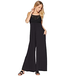 Perla Jumpsuit w/ Pockets and Soft Cups Cover-Up