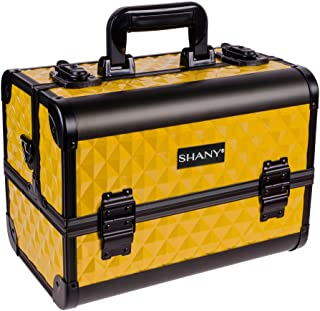 SHANY Premier Fantasy Collection Makeup Artists Cosmetics Train Case – NY Taxi