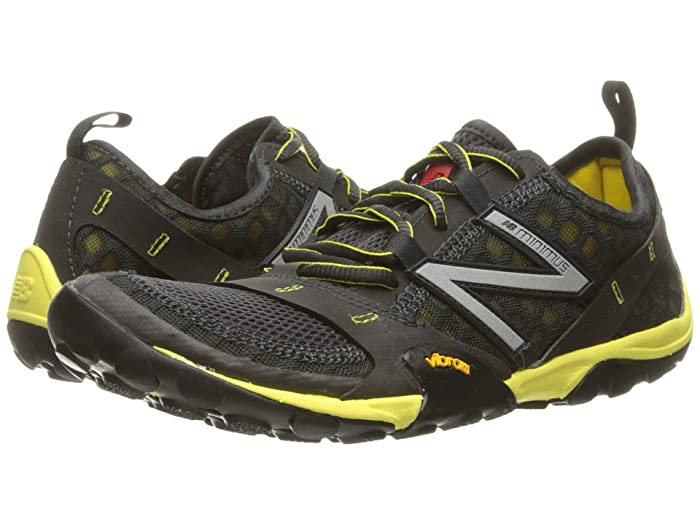 New Balance  Minimus 10v1 (Grey/Yellow) Mens Running Shoes