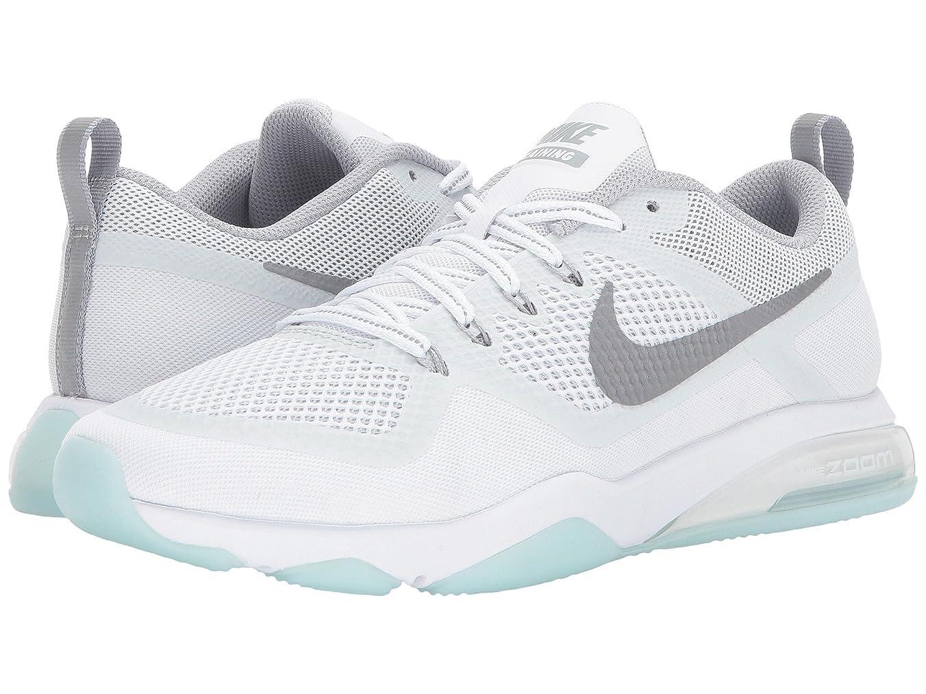記念碑シンカン請求書(ナイキ) NIKE レディースランニングシューズ?スニーカー?靴 Zoom Fitness Reflect Training White/Reflect Silver/Glacier Blue 7.5 (24.5cm) B - Medium