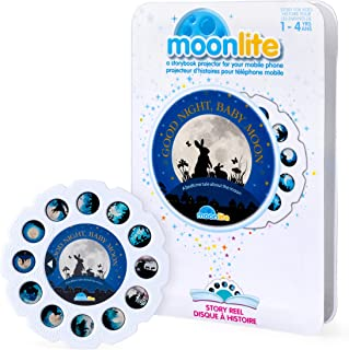 Moonlite - Good Night, Baby Moon Story Reel for Moonlite Storybook Projector, for Ages 1 and Up