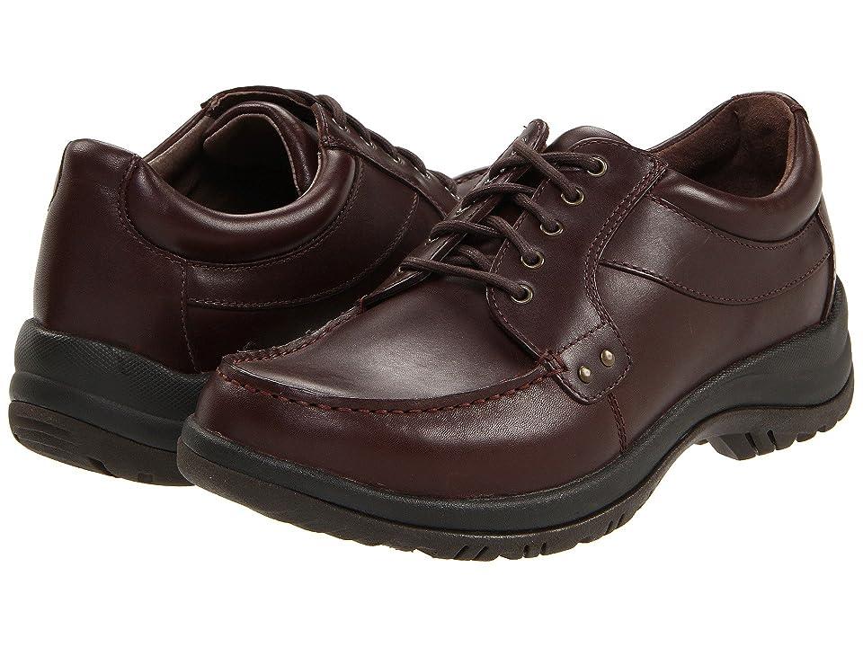 Dansko Wyatt (Mocha Full Grain) Men's Lace up casual Shoes