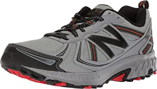 New Balance Men's MT410v5 Cushioning Trail Running Shoe, Steel, 11 4E US