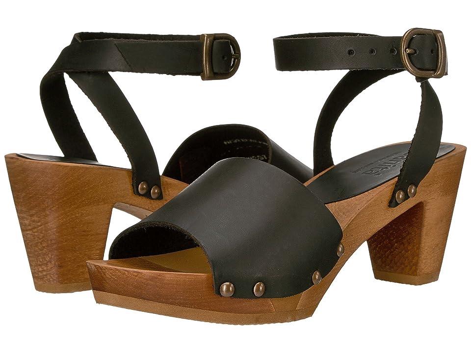 Sanita Yara Square Flex Sandal (Black) Women