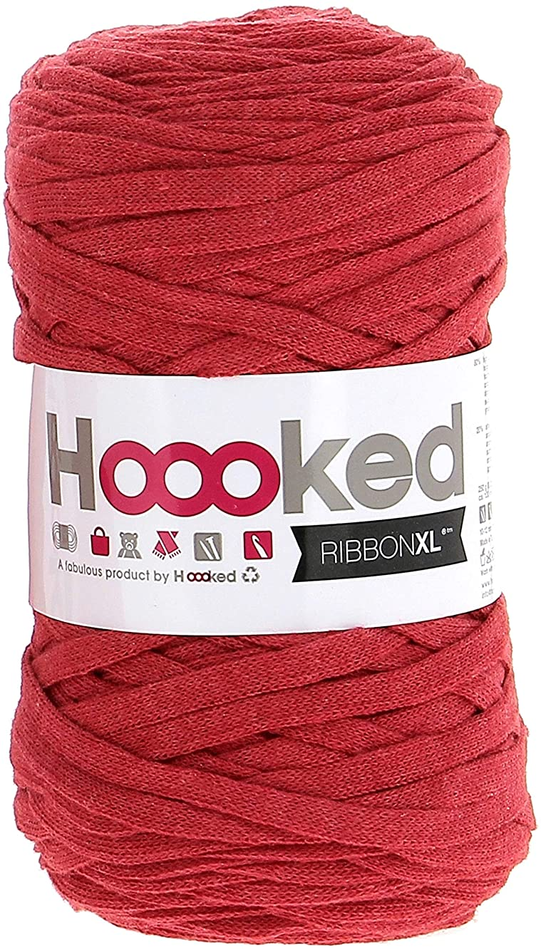 Hoooked RXL-34 Ribbon XL Yarn-Lipstick Red