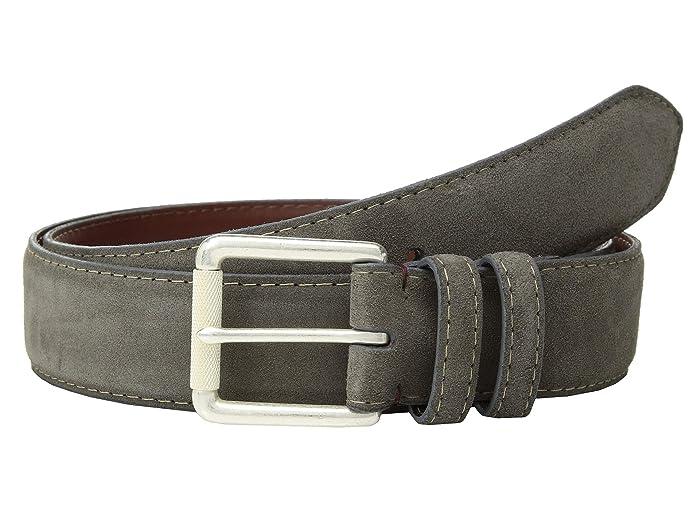 Torino Leather Co. 38 mm Italian Calf Suede (Grey) Men