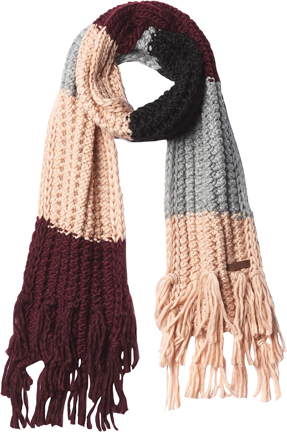 Timberland Chunky Colorblock Icelandic Scarf, Port Royale, one size