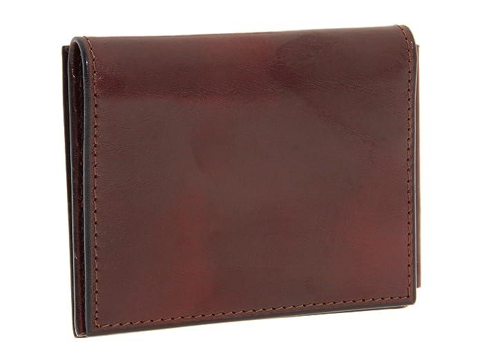 Bosca Old Leather Collection - Money Clip W/ Pocket Bolsas Billeteras