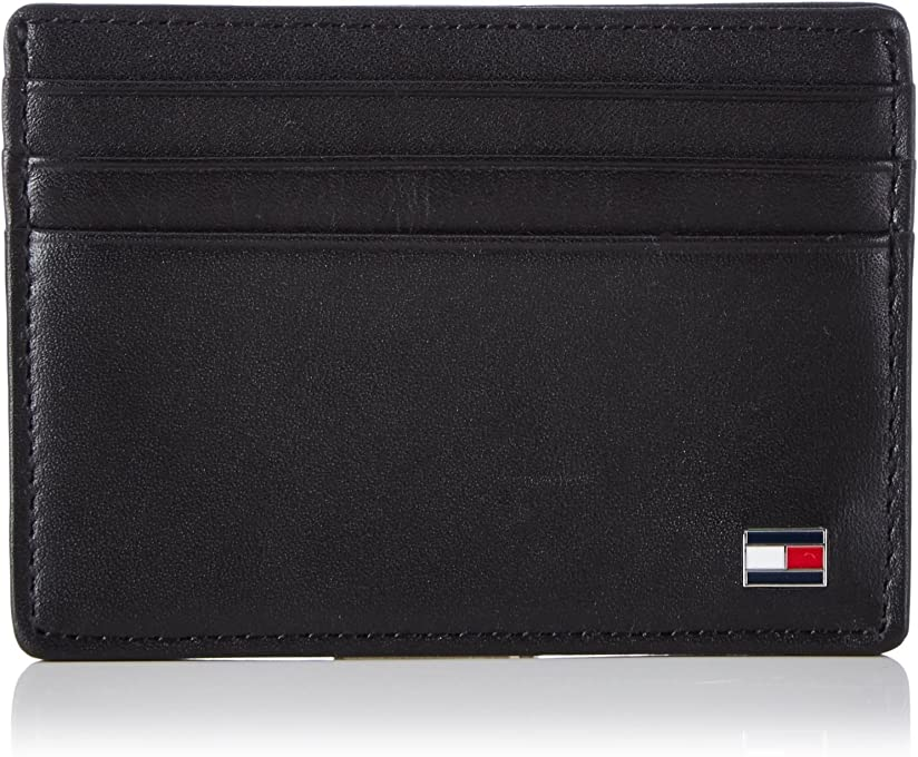 Tommy Hilfiger Men's Eton Leather Card Holder
