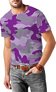 Rainbow Rules Colored Camouflage Mens Sport Mesh T-Shirt