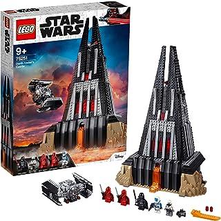 Lego 75251 Star Wars Tm Sith Slott och Byggbar Vader Tie Advanced Fighter, 5 Minifigurer, Flerfärgad, 1060 Delar