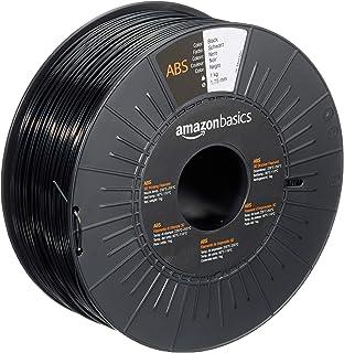 Amazon Basics Filament ABS pour imprimante 3D 1,75mm Noir Bobine 1kg