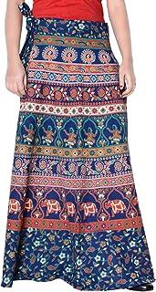 Rajvila Rajasthani Jaipuri Print Skirt for Women Comfortable Skirt for Women (F_W40NT_0003)