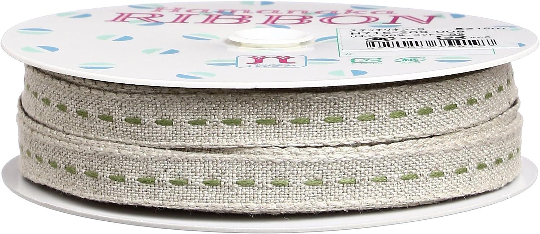 Hamanaka stitch linen ribbon single stitch H715209008 (japan import)