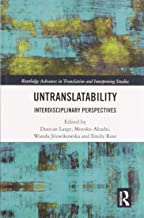 Untranslatability: Interdisciplinary Perspectives