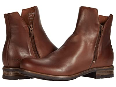 Taos Footwear Zip It (Cognac) Women