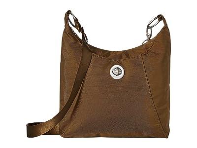 Baggallini Legacy RFID Small Zip Crossbody (Butternut) Cross Body Handbags