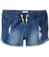 "Hudson Kids 2 1/2"" Pull-On Shorts - French Terry in Depth Charge (Toddler/Little Kids)"