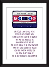 Alice in Chains Rooster Lyrics - Unframed Print