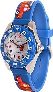 Wolfteeth Boys My First Outdoors Watch Time Teacher Sport Watch with Plastic Bezel 3082