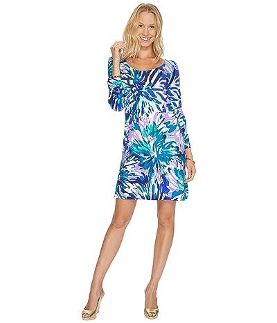 Lilly Pulitzer Emma Dress (Capri Teal Off Tropic) Women