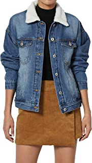 Juniors Vintage Distressed Dark Washed Slim Fit Cropped Denim Jacket
