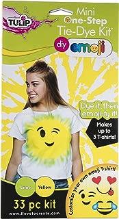 Tulip Tie Dye Emoji Kit Lime Yellow