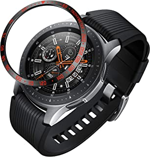 ANCOOL Compatible with Galaxy Watch 46mm/Gear S3 Frontier & Classic Protective Cover,Adhesive Cover Anti Scratch Stainless Steel Protection Design for Galaxy Watch Accessory