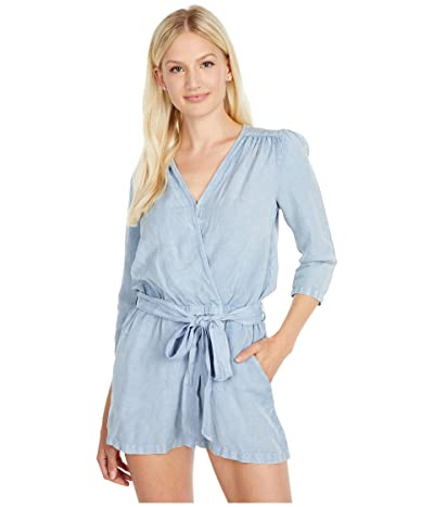 Young Fabulous & Broke Bellows Romper (Blue Stone) Women