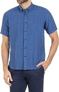 Blazer Men's Wyatt Short Sleeve Linen Shirt