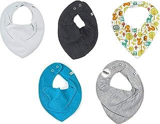 GRATIS 1 Minymo Halstuch ❤️ zusammen 5 Stück Accessoires Pippi Halstuch 4er Pack Halstücher Baby Dreieckstücher
