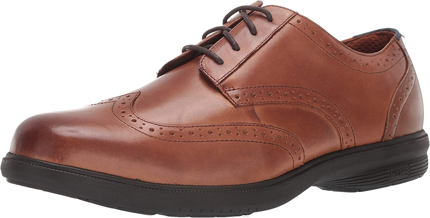 Nunn Bush Men's Manzano Wing Tip Oxford with with KORE Comfort Technology